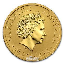 2015 1/2 oz Australian Gold Kangaroo Coin Brilliant Uncirculated SKU #84464