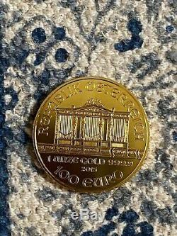 2015 1 oz Gold Australian Philharmonic Coin