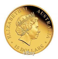 2015 Australian Koala 1/10 Oz $15 Gold Proof Coin Ngc Pf70 Australia 1500mintage