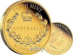 2015 Australian Full Sovereign Gold Proof Coin Superb