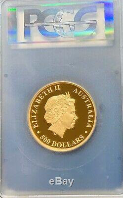2015 P Australian Wedge Tailed Eagle 5 oz Gold Proof Coin PCGS PR70 DCAM