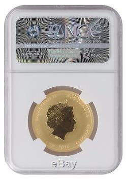 2016 1/2oz Gold Perth Monkey MS70 NGC Brown Label (#014)
