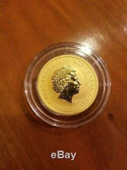 2016 1 oz Gold. 9999 Fine Australia Kangaroo Mint State $100 Australian Coin