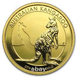2016 Australia 1 oz Gold Kangaroo BU SKU #92695
