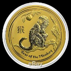 2016 Australia 2 oz Gold Lunar Monkey BU SKU #92750