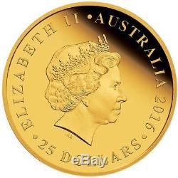 2016 Australian Full Sovereign Gold Proof Coin Superb