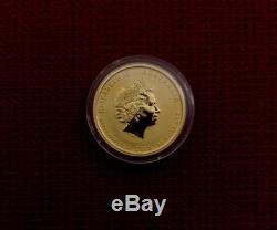 2016-P 1/10 Troy Oz. 9999 Fine Gold Australian Year Of The Monkey Coin BU