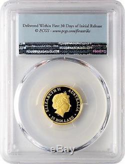 2016-P $25 Australia Koala. 9999 Gold Coin PCGS PR70DCAM First Strike
