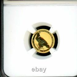 2016 P Australian $15 Gold Wedge-Tailed Eagle 1/10 oz NGC MS 69 UNC 1st 1000 str