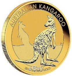 2016 Perth Mint Australian Kangaroo 1 oz Gold Coin In Mint Air-Tite Case