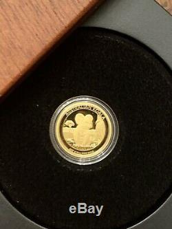 2017 1/10 oz Proof Australian Gold Koala Coin- New In Box & COA