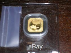 2017 1/10oz. Australian Gold Global (Square Map). 9999 gold Coin