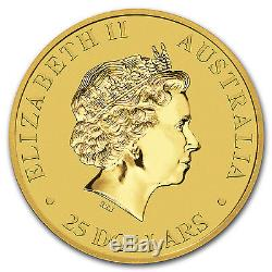 2017 1/4 oz Gold Australian Kangaroo Coin. 9999 Fine Brilliant Uncirculated BU
