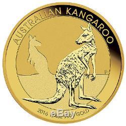 2017 1/4 oz Gold Australian Kangaroo Coin (BU)