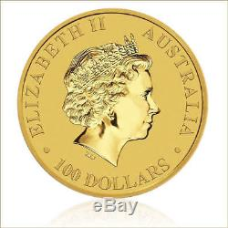 2017 1 oz Australian Nugget Fine Gold 0.9999 Kangaroo Coin