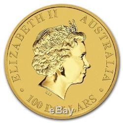 2017 1 oz Gold Australian Kangaroo Coin. 9999 Fine Brilliant Uncirculated BU
