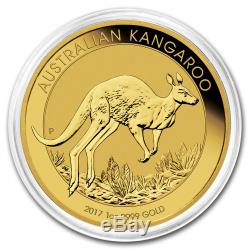 2017 Australia 1 oz Gold Kangaroo BU SKU #102643