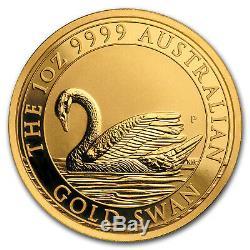 2017 Australia 1 oz Gold Swan MS-70 NGC (ER)
