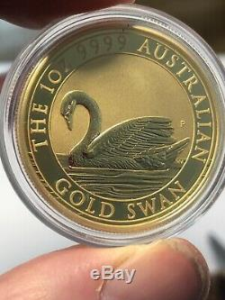 2017 Australia 1 oz Gold Swan Uncirculated
