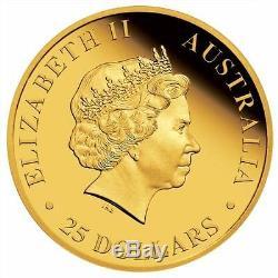 2017 Australian Koala 1/4 Oz $25 Gold Proof Coin Ngc Pf70 Australia 1000 Mintage