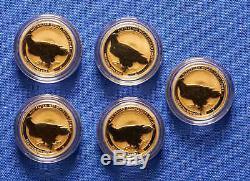 2017 Australian Wedge-Tailed Eagle $15 1/10th oz. 9999 Gold Bullion