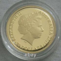 2017 Kangaroo at Sunset $25 1/5oz Gold Proof Coin- RAM Ballot Coin # 869