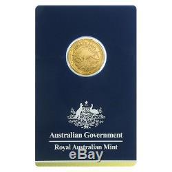 2018 1/10 oz Gold Kangaroo Coin Royal Australian Mint Veriscan (In Assay)