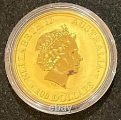 2018 1 oz Australian Gold Kangaroo Coin (BU) $100 COIN