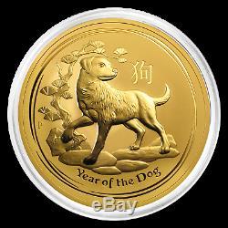 2018 Australia 10 oz Gold Lunar Dog BU