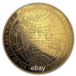 2018 Australia 1 oz $100 Gold Map of World PR-70 PCGS (FS) SKU#161687