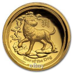 2018 Australia 1 oz Gold Dog HR PR-70 DCAM PCGS (FS, Gold Label) SKU#161680