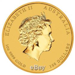 2018 Australia 1 oz Gold Dragon & Phoenix $100 Coin GEM BU PRESALE SKU50369