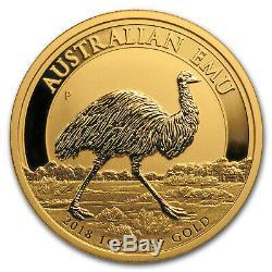 2018 Australia 1 oz Gold Emu BU SKU#172299