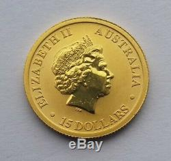 2018 Australian Kangaroo 1/10oz Gold Coin