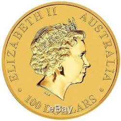 2018 Australian Kangaroo 1oz. 9999 Gold Bullion Coin The Perth Mint