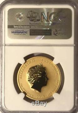 2018 P 1 oz Gold Australian $100 Dragon & Phoenix Early Release NGC MS 70