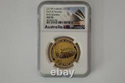 2018p Pop 34 Rare Australia One Ounce Gold Bird Of Paradise Ngc Ms70 Ebucks