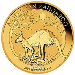 2019 1 oz Australian Gold Kangaroo Coin (BU)
