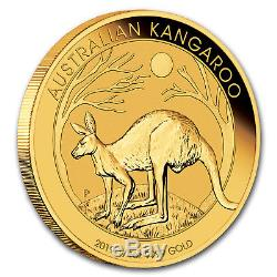 2019 Australia 1/4 oz Gold Kangaroo BU SKU#171681