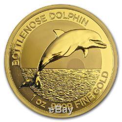 2019 Australia 1 oz Gold $100 Dolphin BU (withBox & COA) SKU#177446