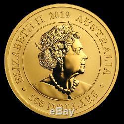 2019 Australia 1 oz Gold Swan BU SKU#186936