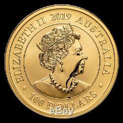 2019 Australia 1 oz Gold Swan MS-70 PCGS (FD, Swan Label) SKU#189848