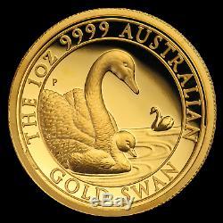 2019 Australia 1 oz Gold Swan Proof (HR, withBox & COA) SKU#193946
