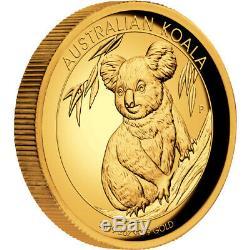 2019 Australian Koala 2oz Gold Proof High Relief Coin