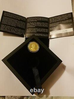 2019 Australian gold Soverign 25 Dollar