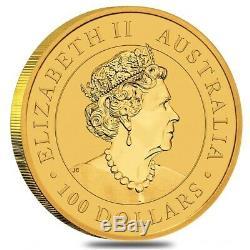 2020 1 oz Australian Gold Kangaroo Perth Mint Coin. 9999 Fine BU In Cap