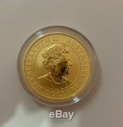 2020 1 oz Gold Coin Australian Kangaroo 9999 Fineness