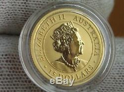 2020 Australia $15 Gold Reverse Proof coin. 9999 pure gold, Great Coin