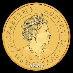 2020 Australia 1 oz Gold Kangaroo BU SKU#198521