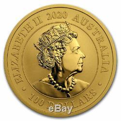 2020 Australia 1 oz Gold Swan BU SKU#207728